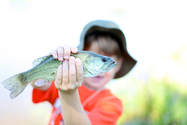 The Jr. Angler Tournament Starts Friday, Giving Kids The Perfect Excuse To Fish And Explore The Area