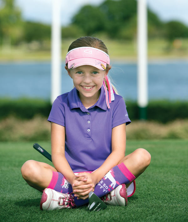 8-Year-Old Golfer Madison Moman Wants To Turn Pro, But First She's Sharpening Her Math Skills In Elementary School