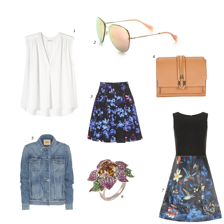 A New Year Means A New Look, So Try Florals And Light Colors This Season