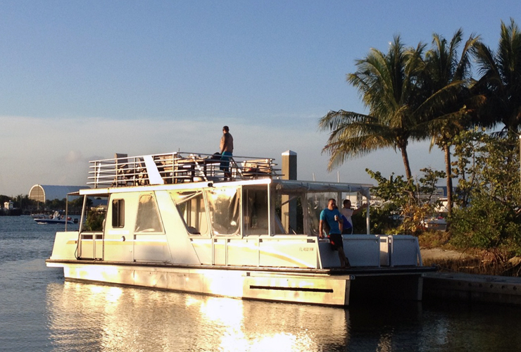 Jupiter's Food Yacht Is Ready To Hit The Water, Serve Up Seafood Every Sunday