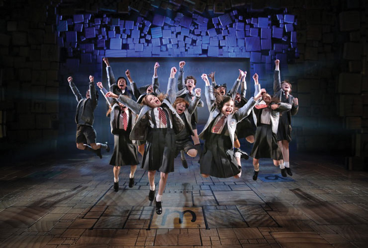 Matilda Meets The Stage