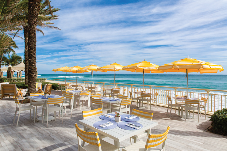 Eau Palm Beach's Renovated Breeze Ocean Kitchen Offers Beachside Bites, Desserts And Drinks