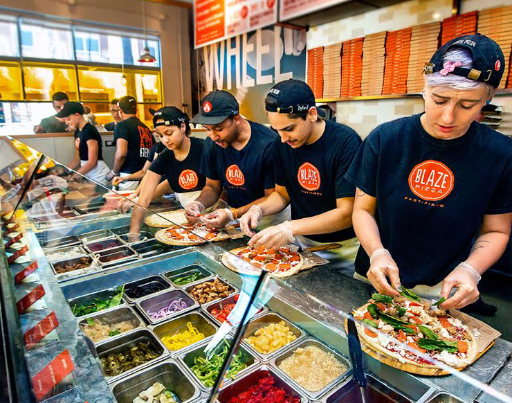 Blaze Fast Fire'd Pizza Is Celebrating Its Palm Beach Gardens Opening With Free Pizza Friday