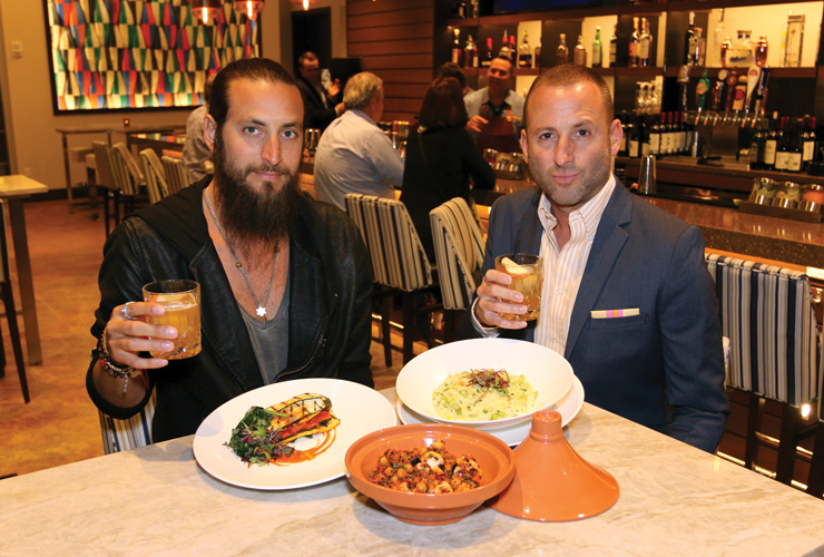 Cocktail Hour: Josh Cohen Meets With Adam Lipson To Discuss Music, Travel And Eating Vegan