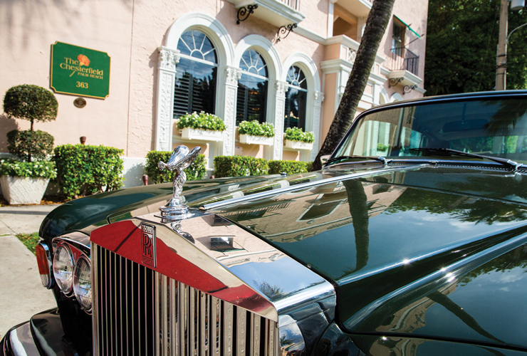 At The Chesterfield Hotel, Enjoy Palm Beach Pleasures And Historic Treasures