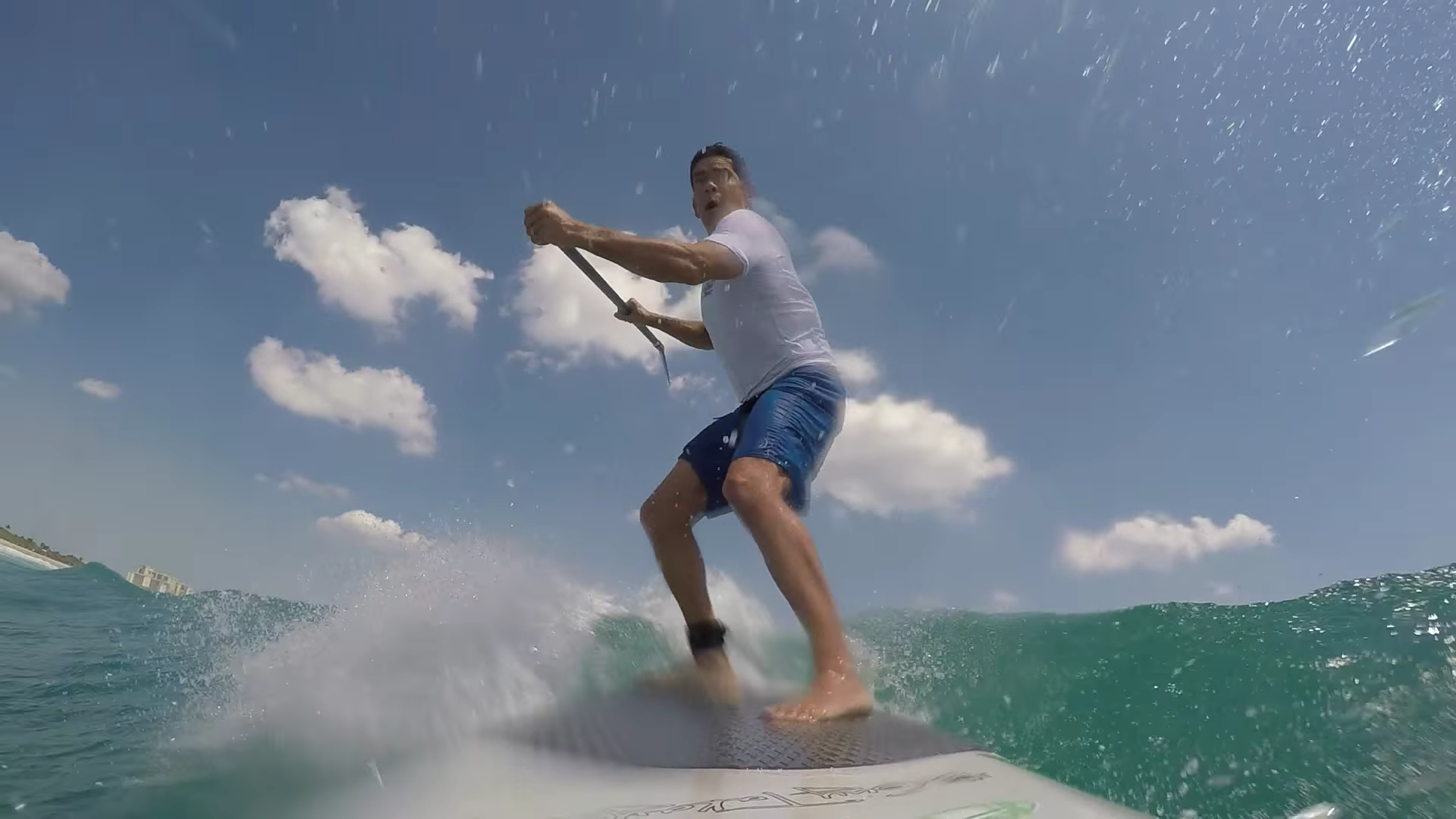 Shark Knocks Man Off His Paddleboard In Jupiter, And He Captured It On Video