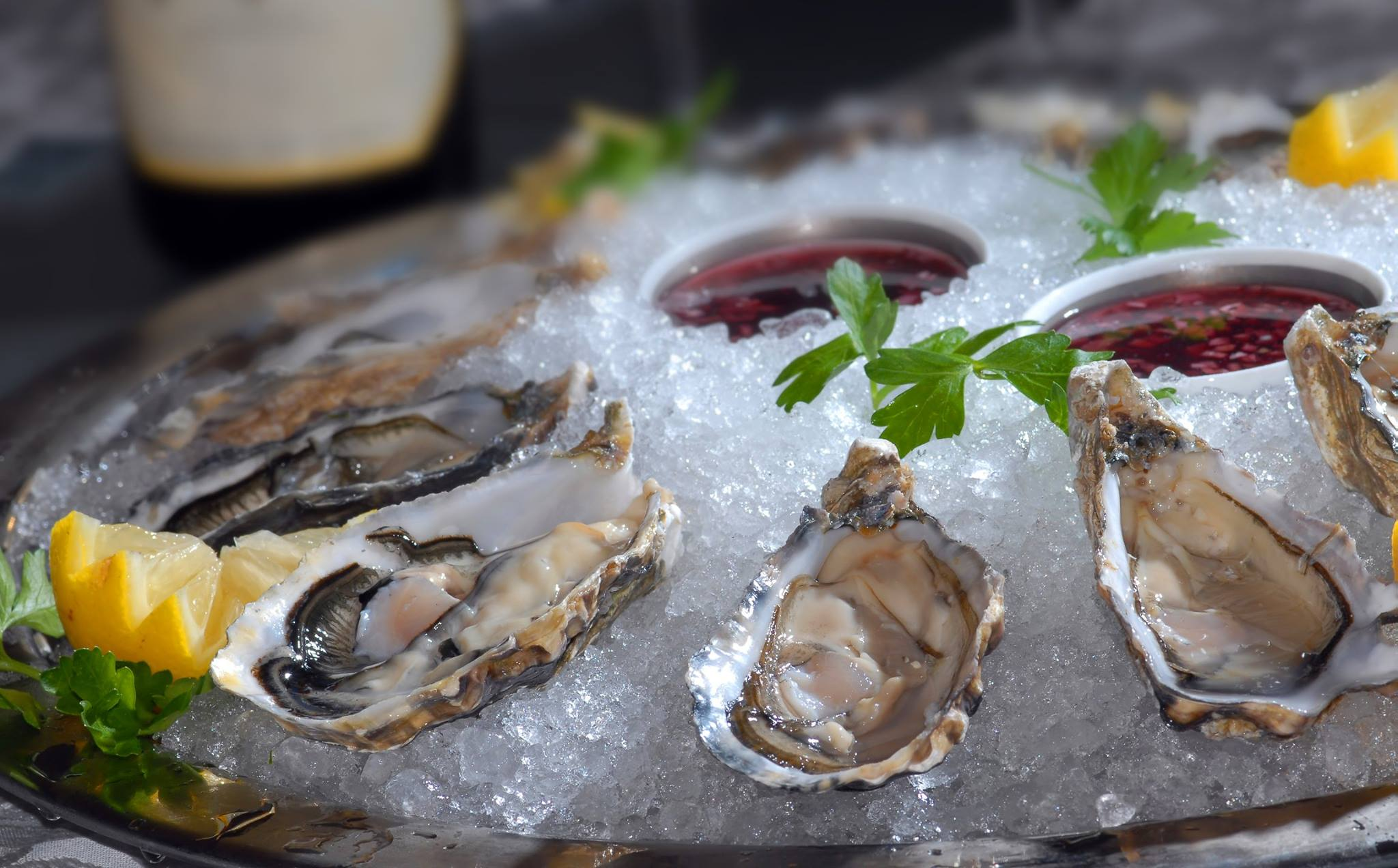 Celebrating National Oyster Day? Stop Into Spoto's In Palm Beach Gardens For Happy Hour