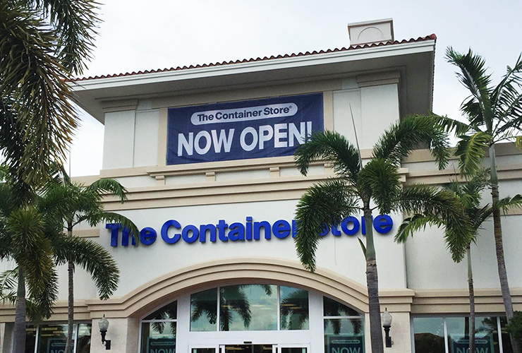The Container Store Is Now Open In Palm Beach Gardens, Providing Locals With Plenty Of Organizational Goodies