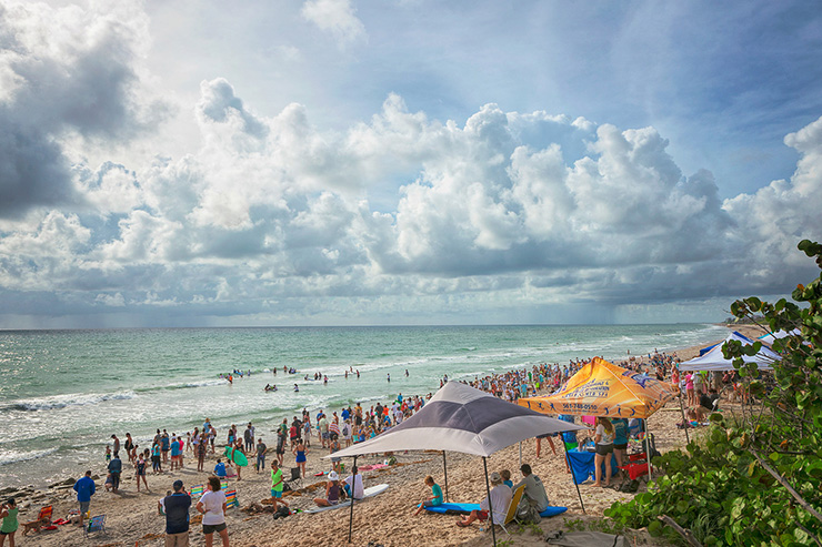 Photos From The 2nd Annual Hang 20 Surf Dog Classic Show Jupiter Pups Are Pros In The Water
