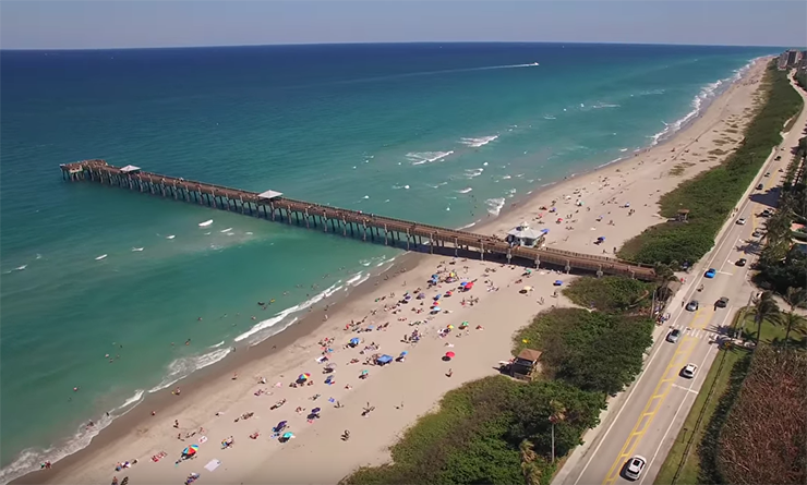 Jupiter Drone Video Shows Our Town Is The 'Pearl Of The Palm Beaches'