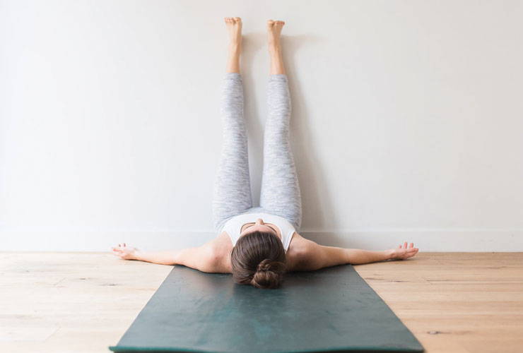 This Simple Yoga Pose Will Help You Reduce Stress