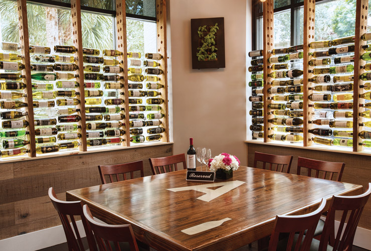At Aaron's Table & Wine Bar In Downtown Abacoa, Ask For The Chef's Table For An Intimate Custom Dining Experience