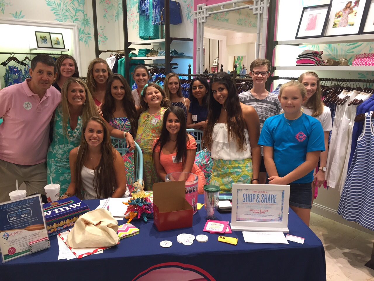 Try This On For Size—Stand UP For MySize Event Taking Place At Lilly Pulitzer Store At Gardens Mall