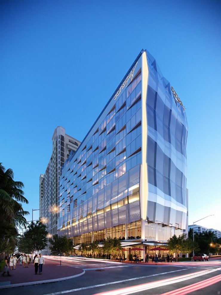 Canopy By Hilton Breaks Ground In Downtown West Palm Beach