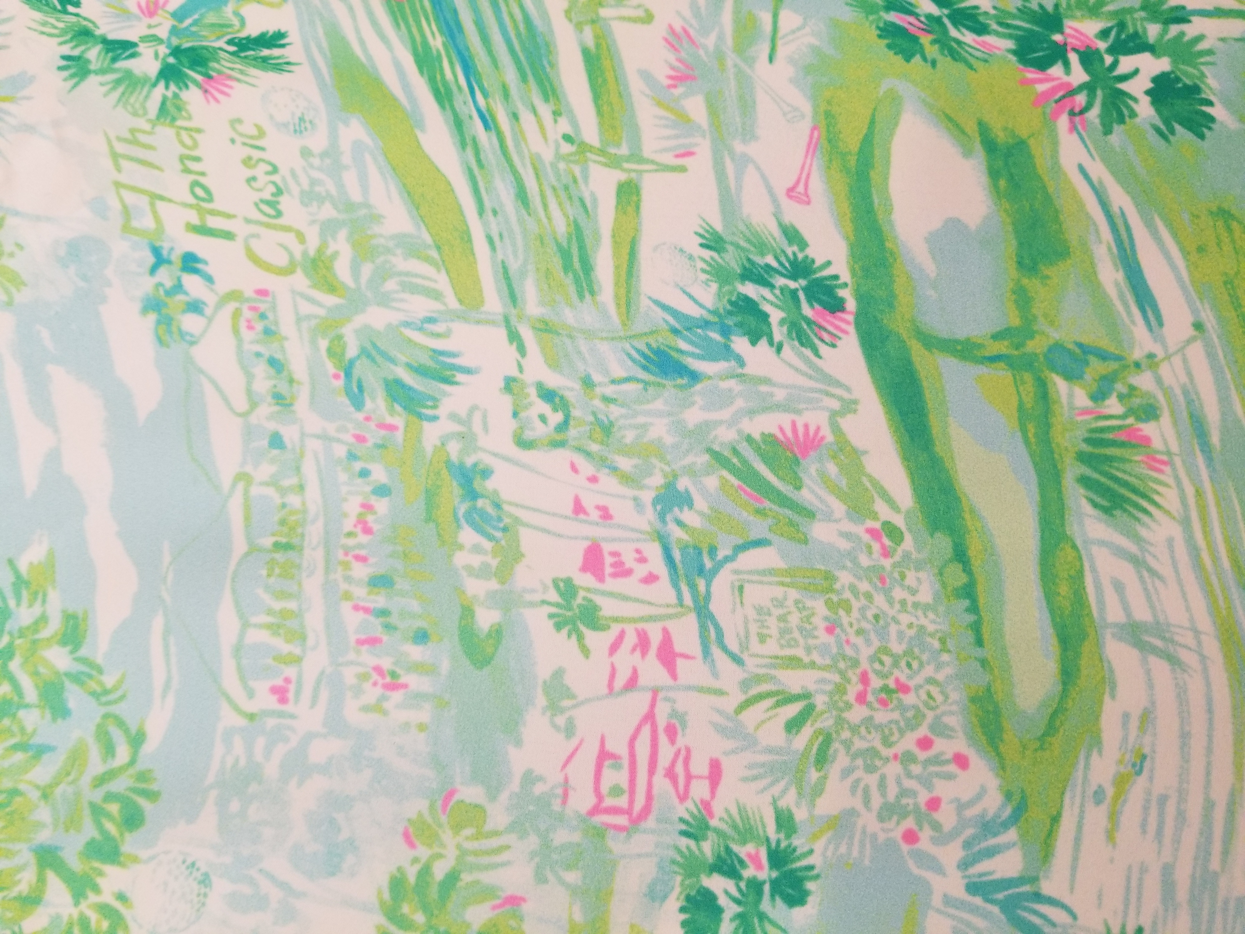 The Honda Classic Partners With Lilly Pulitzer To Create A New Lounge And Print With A Purpose