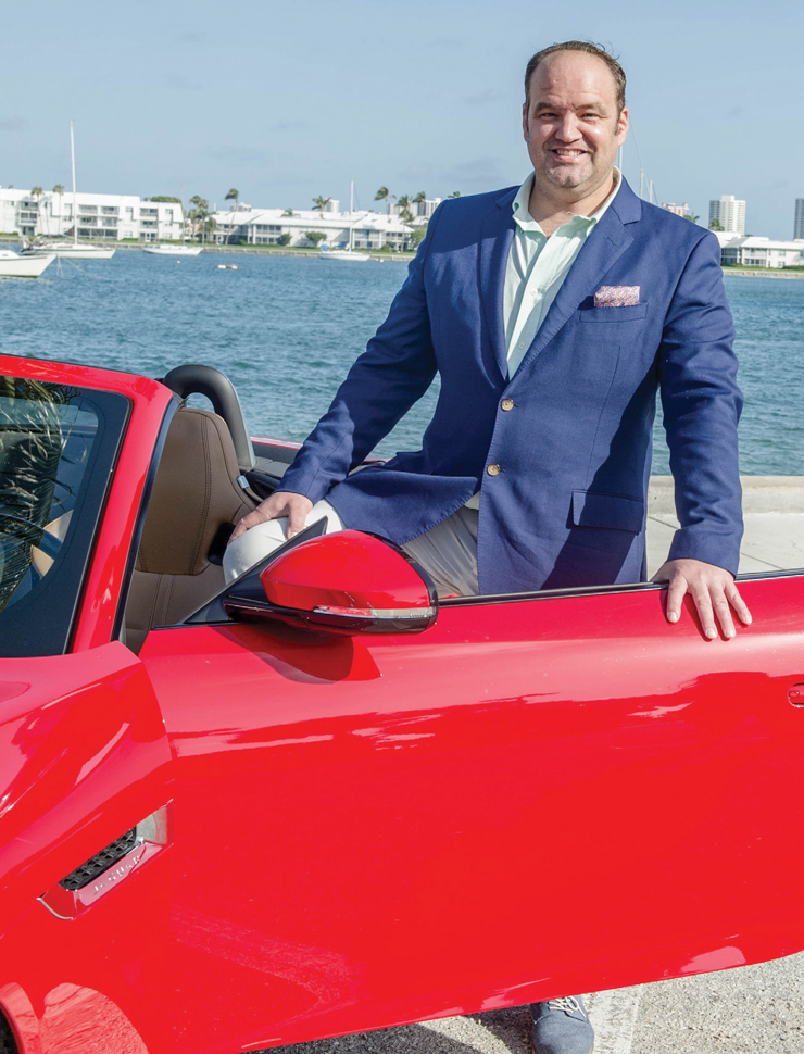 Scott Shrader On His Passion For Cars, The Palm Event And Helping Kids