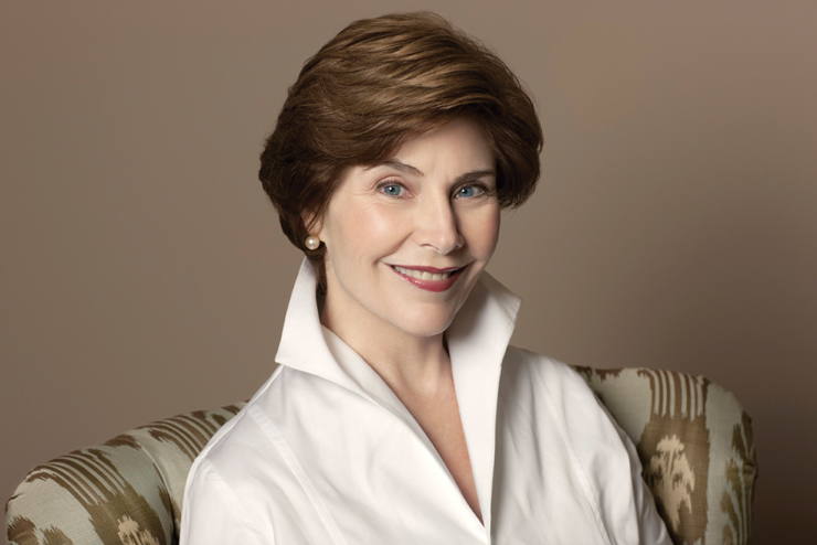 Former First Lady Laura Bush Advocates For Quality Education At Annual Golden Heart Luncheon