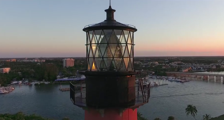 Self-Guided Tours Now Available At Jupiter Inlet Lighthouse Through Mobile App
