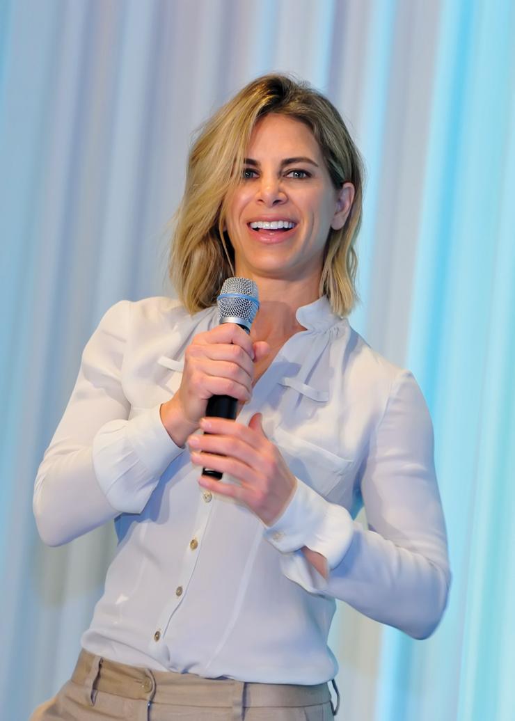 Jillian Michaels Speaks Wisdom At Women's Health & Wellness Conference