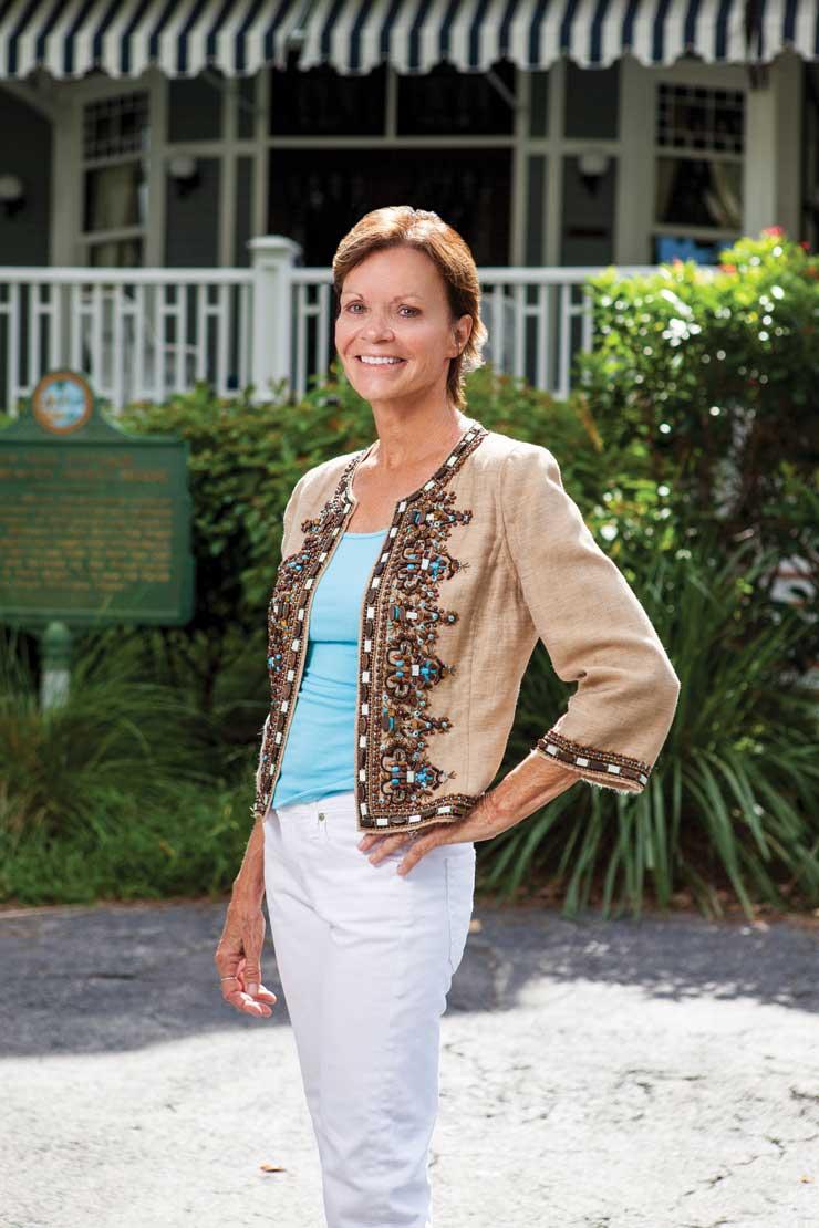 Leslie Diver Reveals Palm Beach's Secrets On Her Island Living Tours