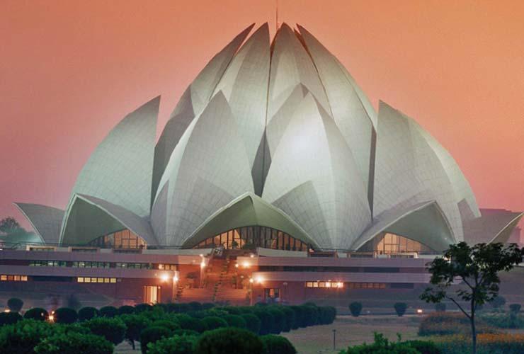 New Delhi and Jaipur