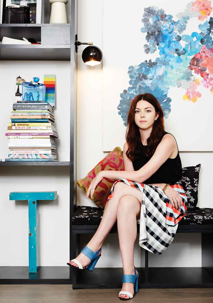 Fashion Designer Tanya Taylor Talks Her Clothing Company's Colorful Spring Collection