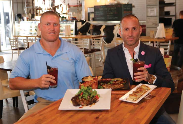 Get To Know Miami Dolphins Tight End Nick O'Leary Over Drinks
